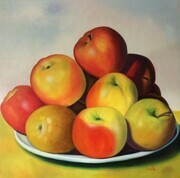 Apples in the Country  42x42  US$2.900