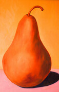 Perfect Pear   32x48   Oil on Canvas