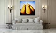 Showcasing Five Pears in the Country  48x48  US$3.500