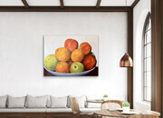 "Showcasing ""Oranges and Apples ""  36x48  US$2.900"