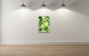 "Showcasing  ""Quince Botanical""  24X36  US$2.100"
