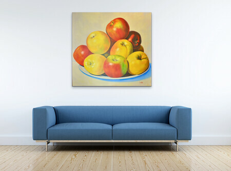 "Showcasing ""Sunlit Apples""  US$3.300"