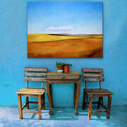 "Showcasing ""Tuscan Memories"" 30x40  US$2.500"