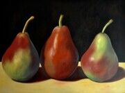 Simply Pears   36x48   Oil on canvas, wired and ready to hang